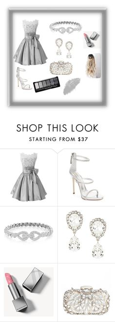 """A Little Bit Of Grey"" by die-ammy ❤ liked on Polyvore featuring Giuseppe Zanotti, Dolce&Gabbana, Burberry, Natasha Couture, passion, is and my"