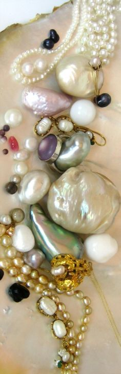 Natural Pearls - oooohhhhhhh!