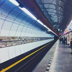 #Prague #underground or #tube Mobile Photos, Prague, Tube, Louvre, Building, Instagram Posts, Travel, Viajes, Buildings