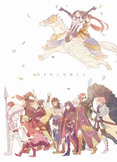 Fire Emblem Awakening, the wonderful children from the future
