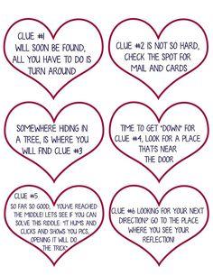 Valentine Scavenger Hunt for Kids (Free Printable Clues!) , Valentine Scavenger Hunt for Kids (Free Printable Clues!) Valentine Scavenger Hunt for Kids (Free Printable Clues! Adult Scavenger Hunt, Boyfriend Scavenger Hunt, Scavenger Hunt Riddles, Easter Scavenger Hunt, Outdoor Scavenger Hunts, Scavenger Hunt Birthday, Christmas Scavenger Hunt, Anniversary Scavenger Hunts, Romantic Scavenger Hunt