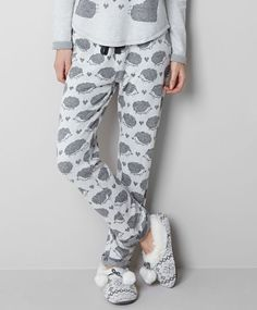 Hedgehog top - OYSHO Pajama Pants afbdf44e5