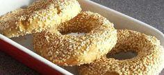 Simit (Turkish bread) recipe
