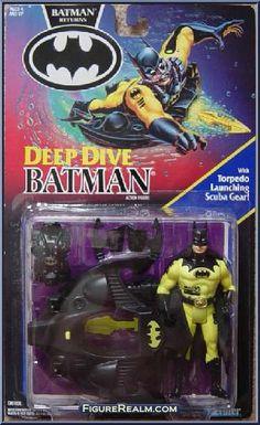 Kenner Batman Returns Series 1 Batman (Deep Dive) Figure 1992