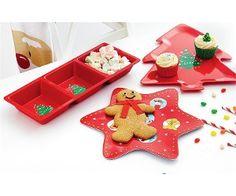 Santa's Christmas Wonderland Assorted Melamine Servingware