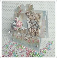Scrap and Craft: Pretty Lady Butterfly Card!! using products from www.scrapandcraft.co.uk #butterfly #scrapiniec #crafts&you #flowers