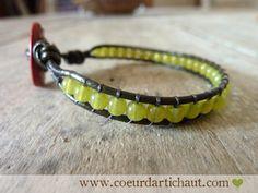 Bracelet bohème, petit pois. Coeur d artichaut© Porte Clef, Coeur Artichaut beb7c4e059a