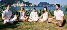 Sudarshan Kriya - breath in...breath out...pretty simple