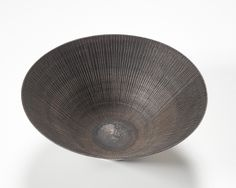 Lucie Rie. Conical Bowl, Inlay and Scraffito