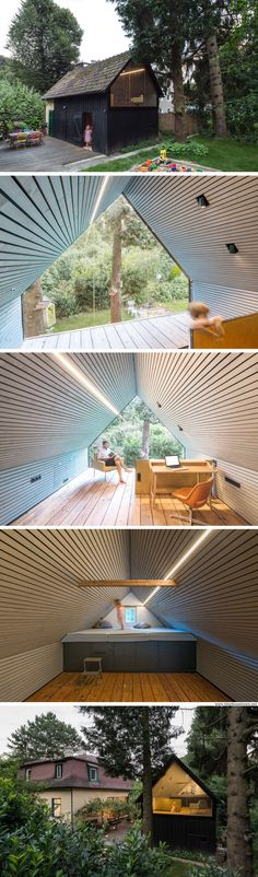 The Enchanted Cabin: a 322 sq ft writer's retreat in Austria
