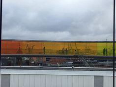 11. december 2016. Aros - Århus. Lidt af regnbuen.