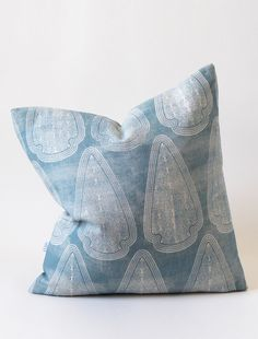 Beautiful and bohemian, our distressed Artemis print makes stunning pillows that add a soft statement to your space. A particularly calming colorway, we love these in a pair, as a bedding accent. This