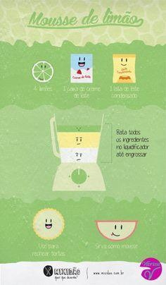 Receitinha de domingo, fácil e rápida alem de agradar todo mundo obs: o limão pode ser trocado pelo suco de sua preferência!  Ótimo domingo á todos  #Receita #Domingo #ModaIntima #VitoriosaLingerie