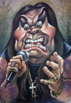 Caricaturas de cantantes de Vizcarra