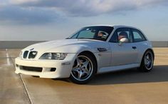 BMW Z3 M Coupe white