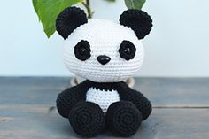 Pip The Panda is a Crochet Pattern ONLY - Instant Download Pattern
