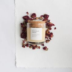 """It's been a typical rainy April for us, but this weather the last few days is totally spoiling us!  Snag one of our Geranium + Rose candles to embrace the whole """"April showers bring May flowers"""" thing in style... 😉Link in bio to shop. #slownorth"""