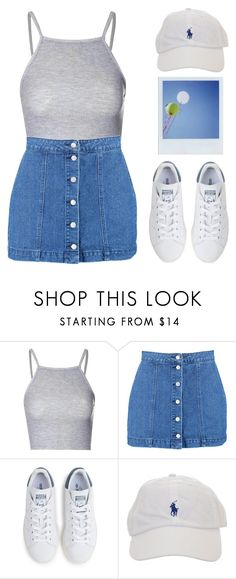 """Everything is blue His pills, his hands, his jeans"" by britney-brit ❤ liked on Polyvore featuring Glamorous, Boohoo, adidas and Polaroid"