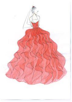 #red #sketch