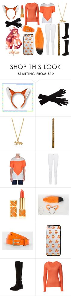 """Volpina"" by lilithgemini ❤ liked on Polyvore featuring agnès b., Joy Everley, NOVICA, Andrea Cammarosano, Frame, Tory Burch, Paul Smith, Casetify, Modern Vintage and American Vintage"