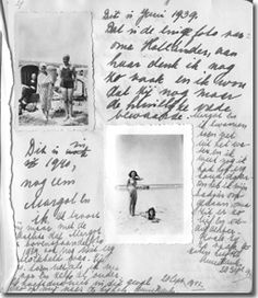 A page from Anne Frank's Diary