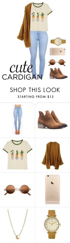 """Spring Looks"" by bleuscleux ❤ liked on Polyvore featuring Monki, Dogeared, Timex, cutecardigan and springlayers"