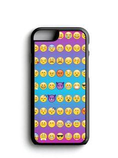 Cute Emoji Pattern Phone Case iPhone Samsung