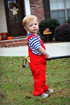 Dennis the Menace Halloween costume