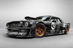 Ford Mustang Kena Blocka