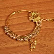 Buy Gold Look Flower Pattern Polki Bridal Nose Ring • Sanvi Jewels Nath Nose Ring, Bridal Nose Ring, Real Gold Jewelry, Flower Patterns, Beautiful Flowers, Gold Rings, Fashion Jewelry, Jewels, Stuff To Buy