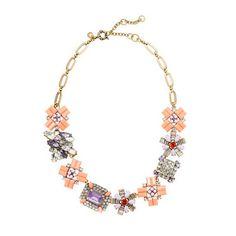 J Crew Geometric Bouquet Necklace | eBay