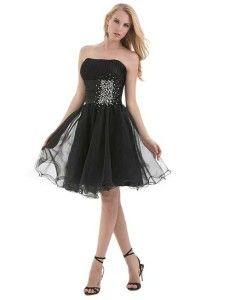65e0cb4cb26 Black cute cheap short puffy prom dresses under  50 dollars for formal prom  junior