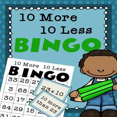 BINGO!!! Practice adding and subtracting 10!!