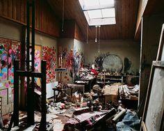 29 fotografías de estudios de los grandes artistas