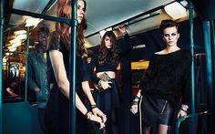 Stradivarius Fall/Winter 2013-2014 Campaign  #grunge #fashion
