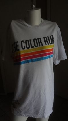 T-Shirt By The Color Run Size: Small