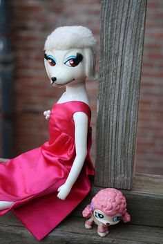 4/365- Peteena & Poodle by pullip_junk, via Flickr
