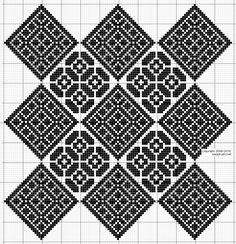 The Beauty of Japanese Embroidery - Embroidery Patterns Biscornu Cross Stitch, Cross Stitch Tree, Cross Stitch Embroidery, Embroidery Patterns, Quilt Patterns, Cross Stitch Designs, Cross Stitch Patterns, Cross Stitch Geometric, Crochet Dollies