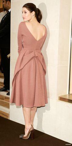 Gemma Arterton in pretty dress