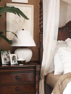 British Colonial Bedroom in Neutrals (Ralph Lauren)