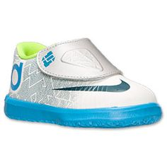 Boys\u0027 Toddler Nike KD VI Basketball Shoes | FinishLine.com | Pure Platinum/