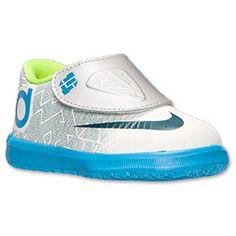 Boys\u0027 Toddler Nike KD VI Basketball Shoes | FinishLine.com | Pure Platinum/