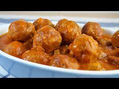 Albóndigas de Pavo y Pollo en Salsa | Recetas de Cocina | Recetas y Cocina