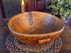 "10.25"" x 4.75 Salem Collection Treenware Bowl: $46.95"