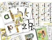 Zoo Phonics.... an awesome phonetic way to teach the alphabet... my old Montessori students loved zoo phonics
