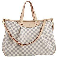 Replica Handbags Louis Vuitton Damier Azur Siracusa GM