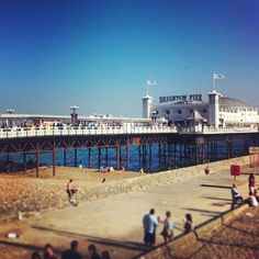 Brighton pier, England - www.facebook.com/onlyanothertraveladdict