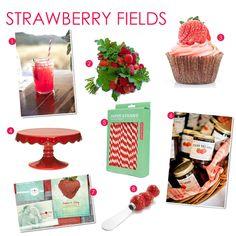 images if strawberry wedding  | Design Inspiration: Summer Strawberries - Exquisite Weddings