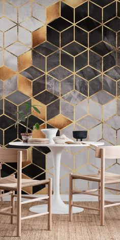 Smoky Cubes wall mural from happywall wallpapers happywall modern cubes wallmural abstract geometric pattern mural wallpaper geometry wallmurals 842454674025510008 Home Wallpaper, Custom Wallpaper, Geometric Wallpaper, Wallpaper Designs For Walls, Wall Stencil Patterns, Condo Remodel, Wall Treatments, Cubes, Wall Design