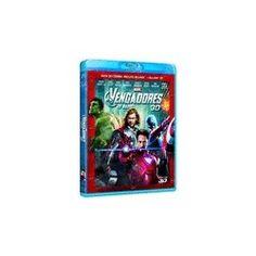 """""""Los Vengadores"""". Blu-ray (3D+2D). 20,79 €."""